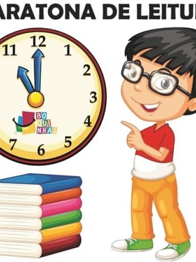 Maratona de Leitura - para aumentar a velocidade de leitura