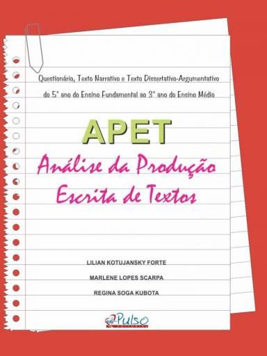 APET Análise da Produção Escrita Textos