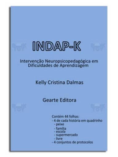 Indap-K Intervenção Neuropsicopedagógica em Dificuldades de Aprendizagem