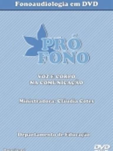 """(DVD) - Voz e Corpo na Comunicação (34"""")"""