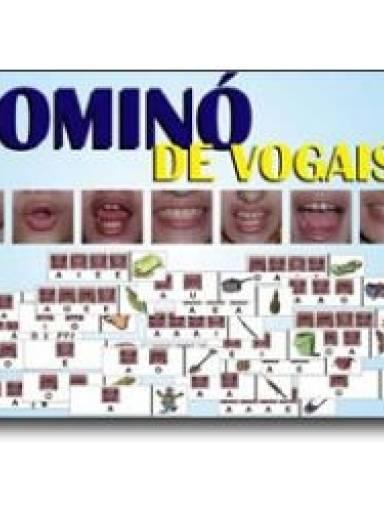 Dominó de Vogais (Boquinhas)