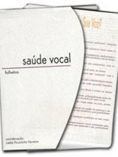 Folhetos - Saúde Vocal