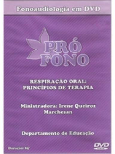 (DVD) - Respiração Oral: Princípios de Terapia (85´)