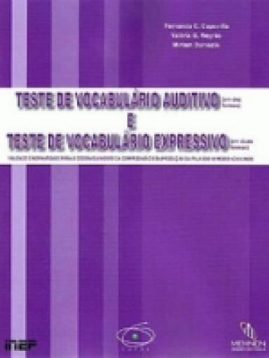 Teste de Vocabulario Auditivo e Teste de Vocabulario Expressivo